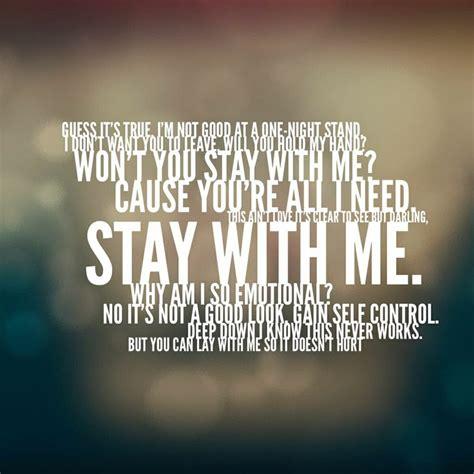 printable lyrics sam smith stay with me sam smith stay with me lyrics pinterest in love you