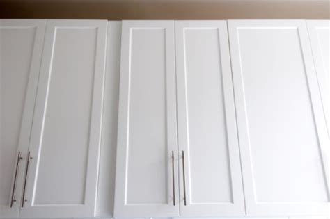 shaker style updates a straight line layout how to update cabinets to a shaker style hunker