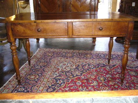 antique library table for sale a rustic early 19th century cherry library table
