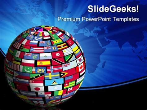 world flag templates world flags globe