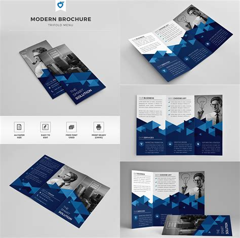 Free Creative Brochure Templates by 20 Best Indesign Brochure Templates For Creative Business Marketing