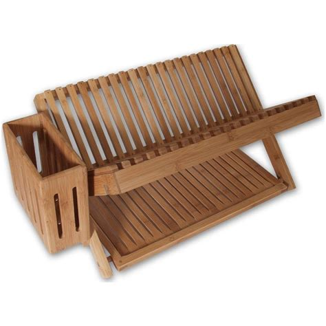 Kitchen Drying Rack 24 quot bamboo dish drying rack from island bamboo