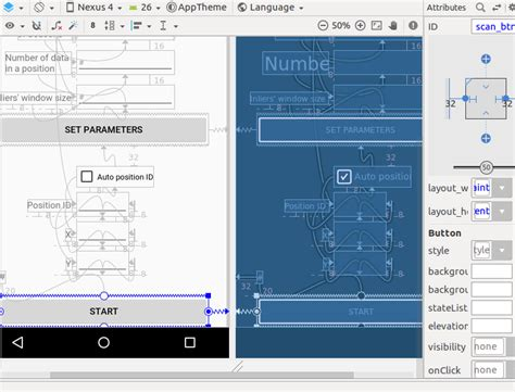 layout invalidate android android adding constraint in constraintlayout wrapped in