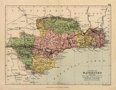 map of waterford city waterford genealogy