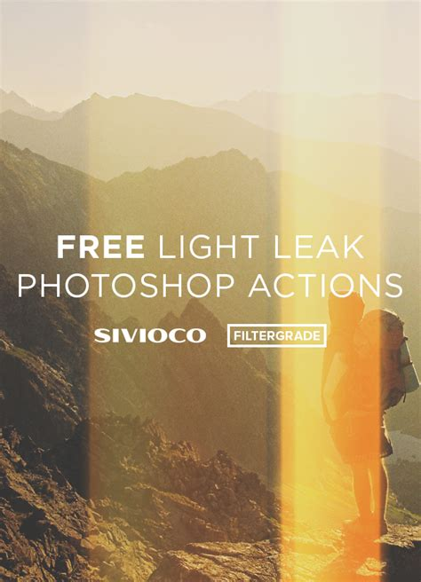 free download christmas light action for photoshop free light leak photoshop actions from sivioco filtergrade