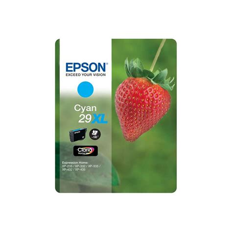 Epson Cyan Ink Cartridge T6732 epson claria 29xl t2992 strawberry ink cartridge cyan 7dayshop