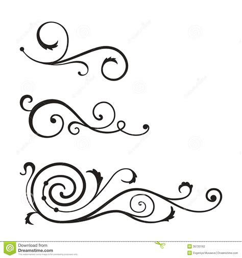 pattern swirl vector swirl elements design vector 35720162 jpg 1300 215 1390