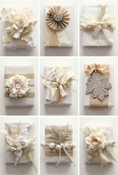 Handmade Gift Wrapping Ideas - prettiness gift wrapping ideas janette