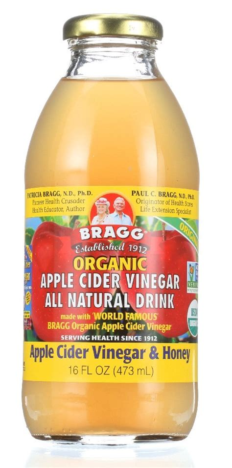 Organic Honey And Apple Cider Vinegar Detox by Bragg Organic All Apple Cider Vinegar Drink Honey