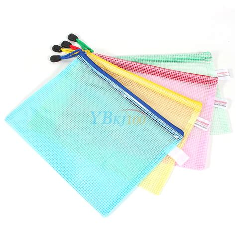 Zipper Bag Frozen Uk A5 by 12pcs A5 Plastic Zipper Bags Zip File Storage Document