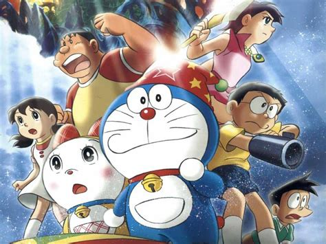 collection image wallpaper gambar animasi  doraemon