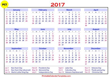 printable calendar 2017 canada free 2017 calendar with holidays us uk canada free