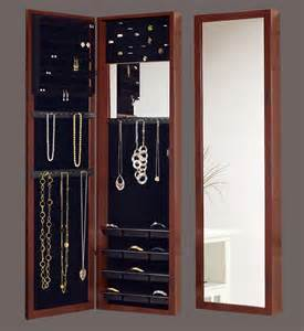 Door Jewelry Armoire The Door Mirrored Jewelry Armoire