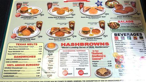 waffle house cary nc menu yelp