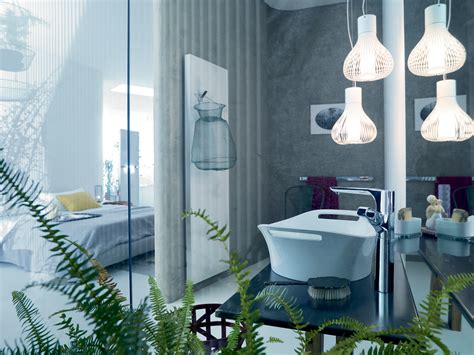 Unique Bathroom Lighting Ideas Lighting Furniture Home Design Ideas