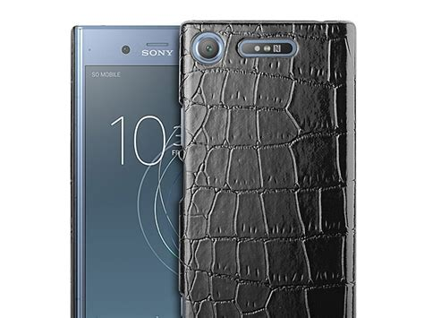 Sony Experia Xz Xzs Spigen Like Rugged Armor Premium sony xperia xz1 crocodile leather back