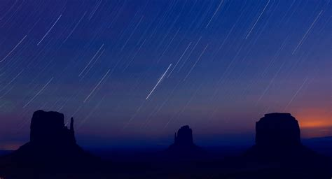 Where In The Sky Is The Meteor Shower by Free Stock Photo Of Trails In The Sky During The