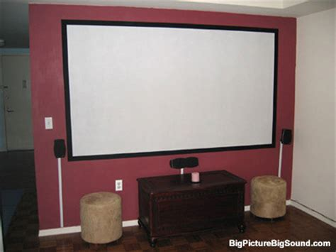 diy home theater painting your own projection screen bigpicturebigsound