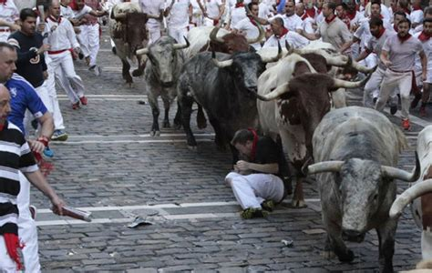 Running With The Bulls running of the bulls 2017 in pictures most shocking