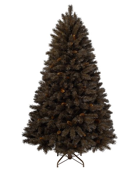 chocolate truffle artificial brown christmas tree treetopia