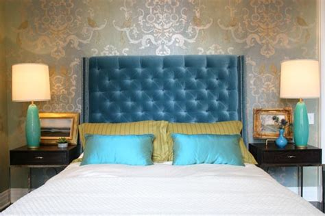 Bedroom Wallpaper Gold Coast Left Coast Luxe Summer Thornton Design