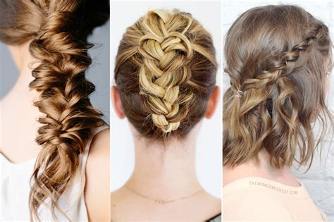 Cool Braided Hairstyles by 9 Cool Braid Tutorials That You Should Try Clumsy Chic
