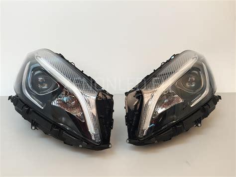 mercedes led headlights mercedes benz a class w176 facelift lci 2015 full led