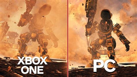 One Graphic 12 titanfall xbox one vs pc graphics comparison ign