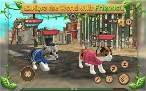 cat sim  play  cats apk  android apps