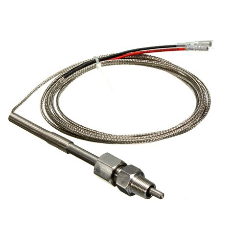Termometer Sensor universal k type egt thermocouple temperature sensors for exhaust gas probe alex nld