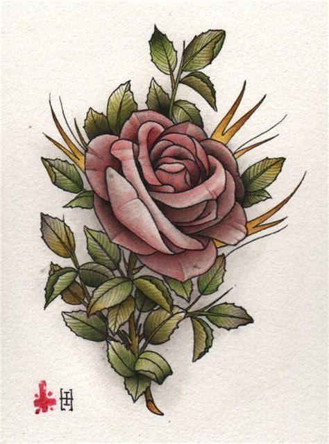 Tattoo Oriental Rosa   chinese rose drawing tattoo dibujos pinterest rose