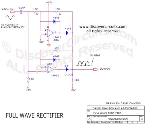 rectifier circuit in pdf circuit wave rectifier circuit designed by david a johnson p e