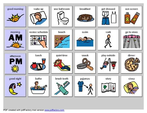 pecs card template best 25 visual schedules ideas on visual