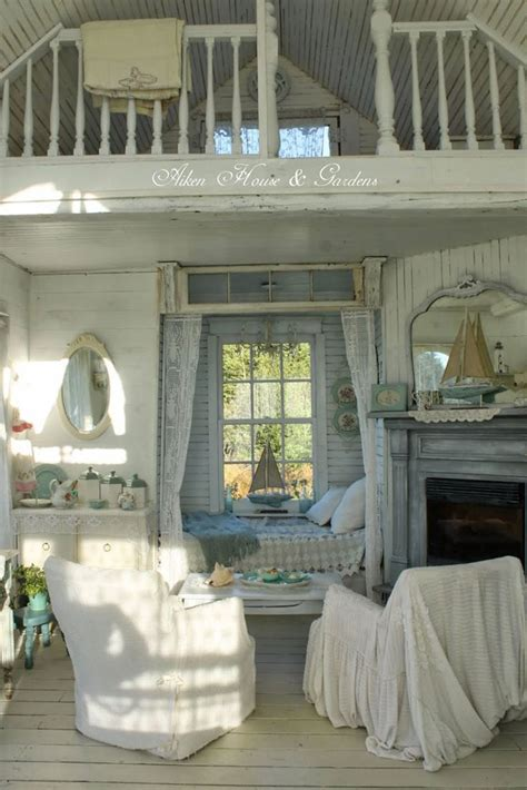 cottage chic camini shabby chic ecco 40 idee originali e decorative