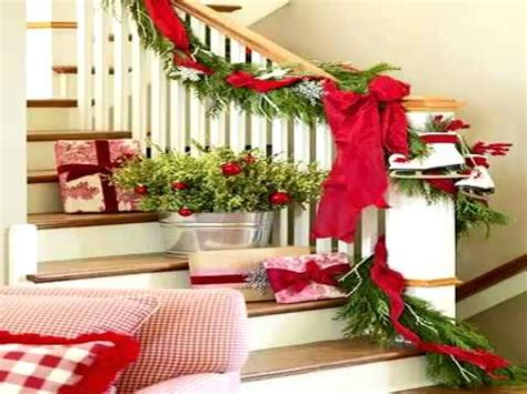 youtube home decorating christmas stairs decoration ideas youtube
