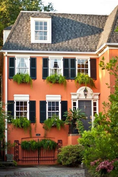 orange exterior house colors orange exterior house paint color combinations house