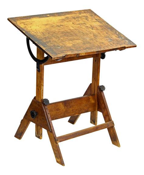 Adjustable Height Drafting Table Vintage Adjustable Height Drafting Table Chairish