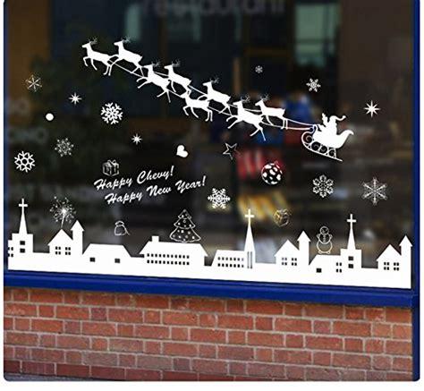 Fensterbilder Weihnachten Selbstklebend Sterne by Cosanter Fensterbild Weihnachten Selbstklebend Fensterdeko