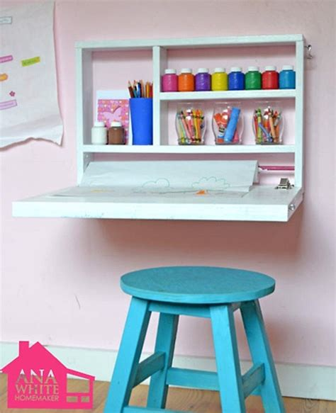 kids desk idea 12 diy ideas for kids rooms diy home decor