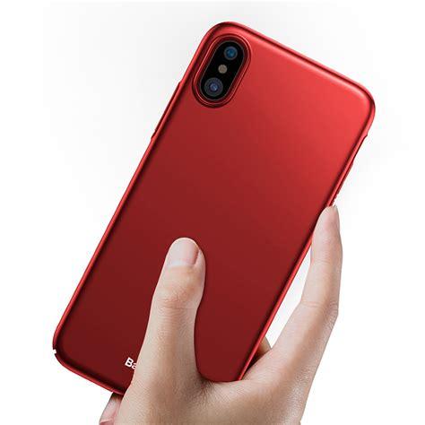 Hardcase Iphone Gambar baseus ultra thin hardcase for iphone x black jakartanotebook