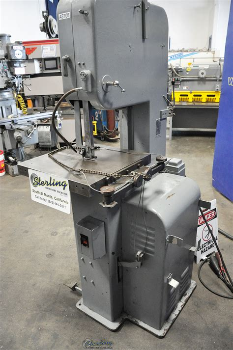Used Doall Vertical Contour Bandsaw Sterling Machinery