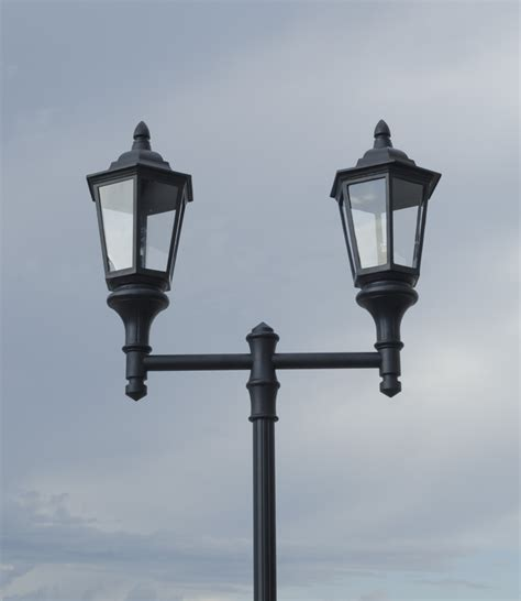 Lantern Style Light Fixtures Lantern Style Municipal Quality Light Fixture And Arm High Pressure Sodium