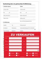 Kaufvertrag Auto Xls by Kfz Fahrzeuge Boote Vertr 228 Ge Vollmachten Schilder