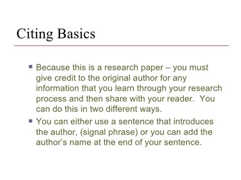 Cite Research Paper Exle by Citation For Research Paper Writefiction581 Web Fc2