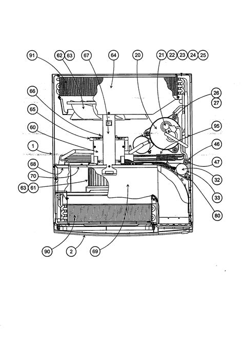 carrier air conditioner parts diagram carrier room air conditioner evaporator parts model
