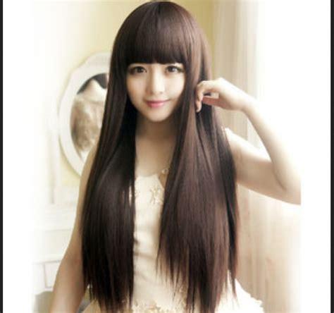 Model Rambut Yang Bagus by Model Rambut Bagus Model Rambut Panjang Lurus Untuk Wajah