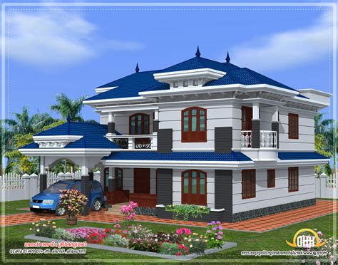 different colors of exterior paintings in kerala modern house