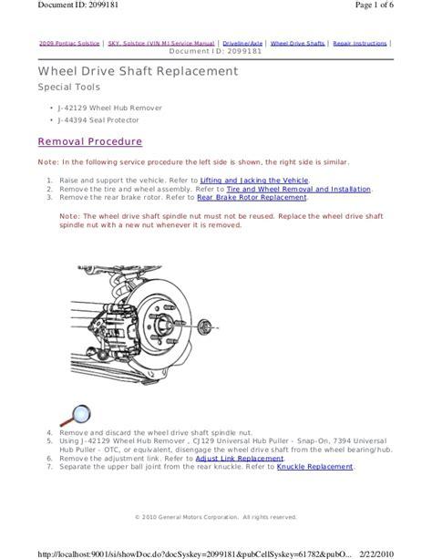 service and repair manuals 2007 pontiac solstice free book repair manuals 2007 pontiac solstice service repair manual
