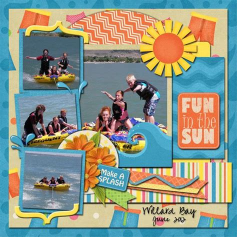 Multi Photo Scrapbook Layouts by Multi Pic Layout Waterpark In Sioux Falls 1
