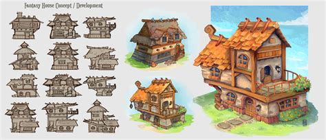 home design concept lyon 9 fantasy house concepts by spikings on deviantart